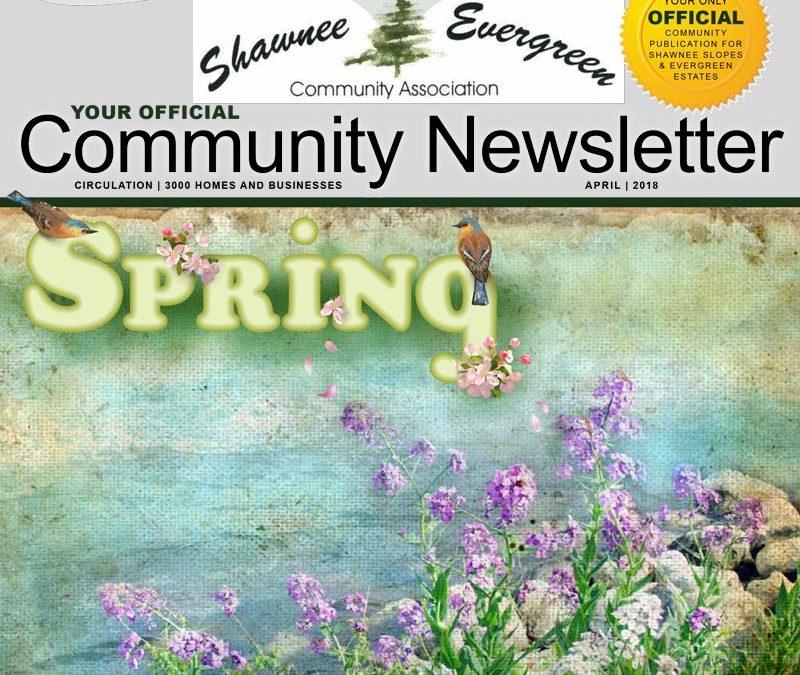SECA April 2018 Newsletter