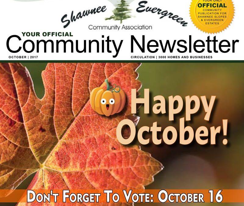 SECA October 2017 Newsletter